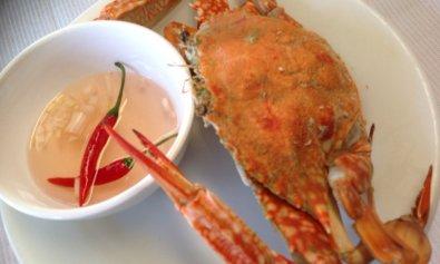 Steamed Crab (Alimasag)