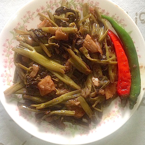 Apan-Apan: Ilonggo version of Adobong Kangkong