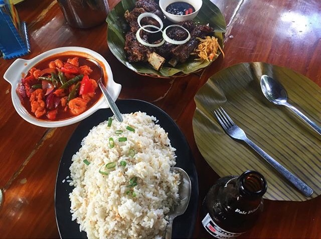 About filipino food blog filipino meal with rice ulam spoon and fork forumfinder Gallery