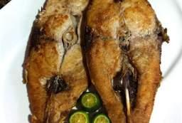 Fried Talakitok with Calamansi