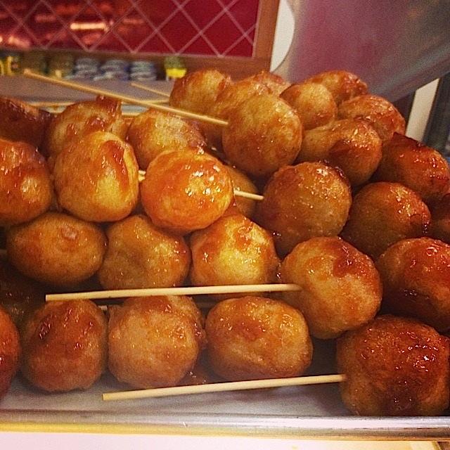 Sticks of Carioca Balls