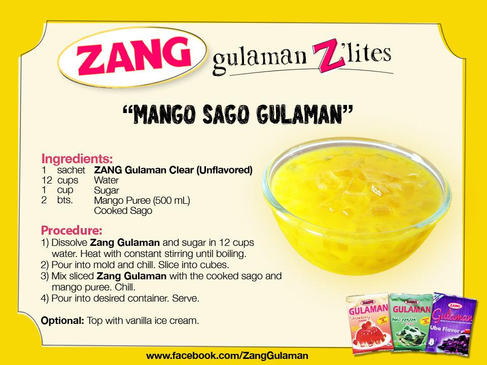 Mango Gulaman