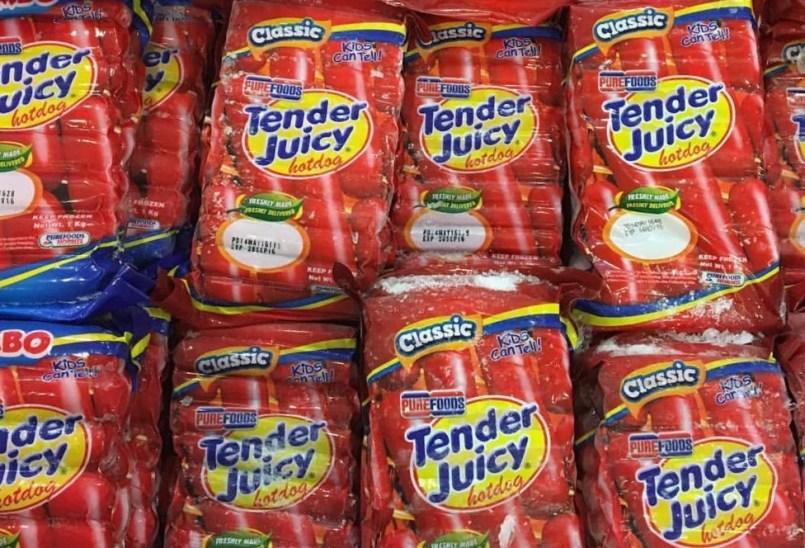 Purefoods Tender Juicy Hotdog