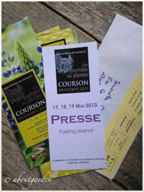 Courson invito press