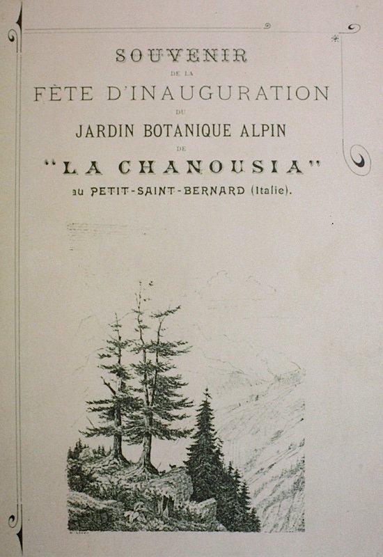 inaugurazione giardino La Chanousia