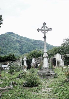 Croce centrale del cimitero di Murta