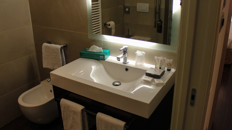Hotelzimmer im Laguna Palace Grado