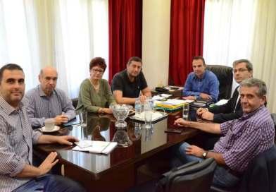 Συνάντηση με θέμα τη δυνατότητα φιλοξενίας τμημάτων και δομών του Πανεπιστημίου στο πρώην 1ο Γυμναάσιο