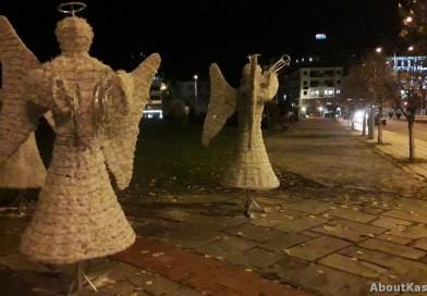Ήρθαν και φέτος τα «αγγελάκια» στην Καστοριά – Μυρίζει Χριστούγεννα