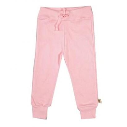 Wooden Buttons broekje met koord roze