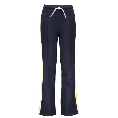 B.Nosy straight sporty palazzo pants with tape on sideseam