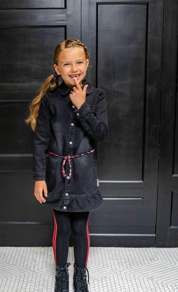 B.Nosy Long Blouse Dress With Belt