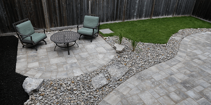 man made vs natural patio stones what