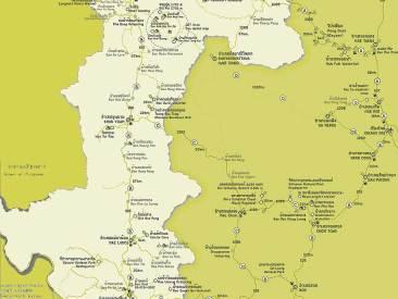 แผนที่ แม่ฮ่องสอน , Maehongson Map