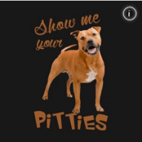 Pit bull tshirt show me your pitties