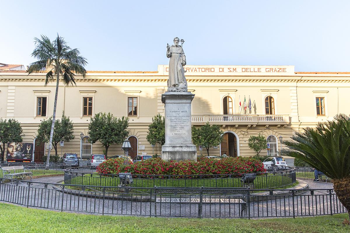 Statua Sant'Antonino - Sorrento