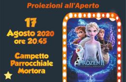 Lunedì cinema Piano di Sorrento Frozen