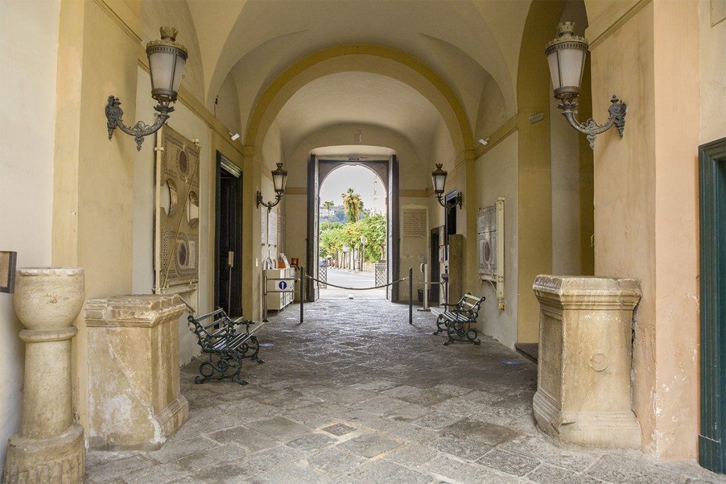 Museo Correale a Sorrento - Ingresso