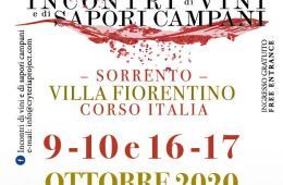 Incontri di vini e di sapori campani a Sorrento 9 10 16 17 ottobre