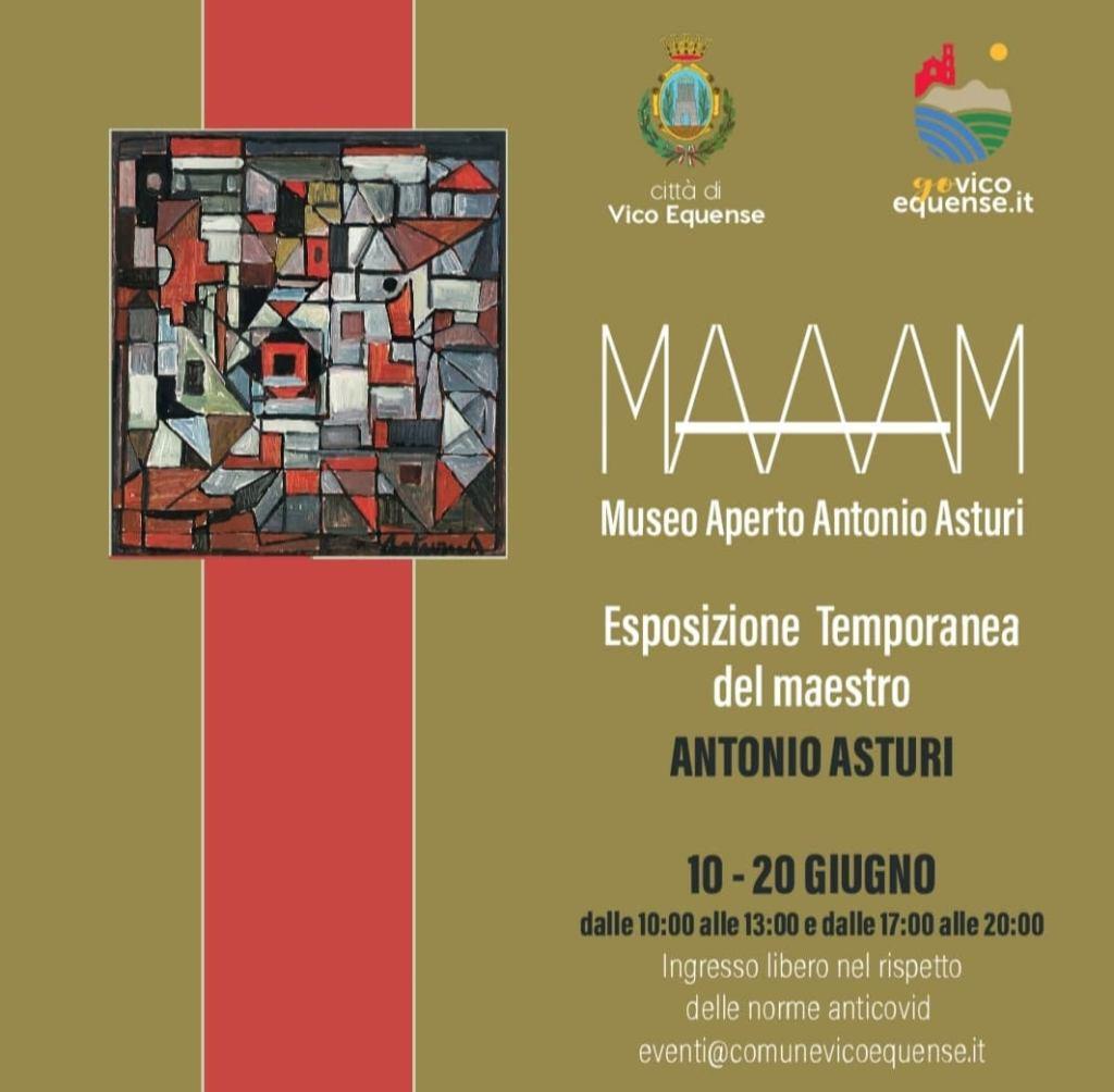 Esposizione temporanea Maestro Antonio Asturi 10-20 giugno Vico Equense