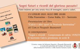 Eventi-estate-2021-presentazione-libro-Sorrento-Calcio-Sogni-e-ricordi-promozione-in-serie-b