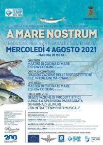 eventi agosto meta a mare nostrum 2021
