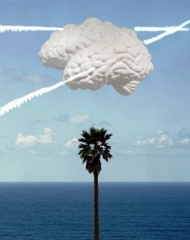 Brain Cloud w trails