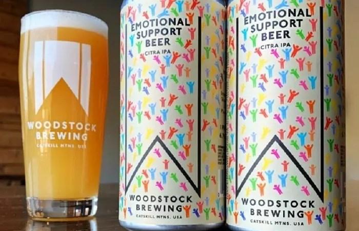 Пиво эмоциональной поддержки появилось в США