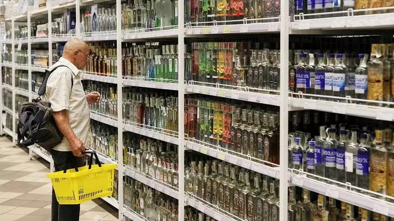 Крепкий алкоголь предложили убрать из супермаркетов