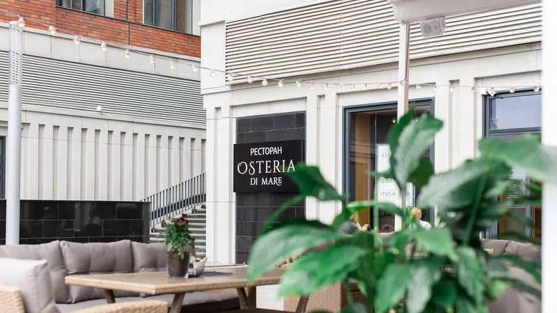 Ресторан Osteria di Mare открылся в «Сердце столицы»
