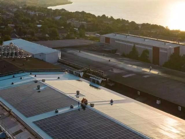 «Зеленая» энергия «Фанагории». На винодельне установили солнечную электростанцию