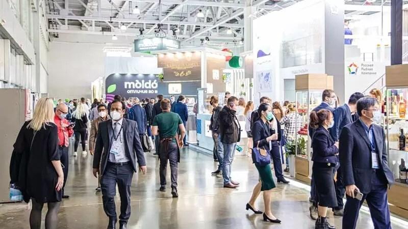 WorldFoodMoscow-2021 открылась в Москве