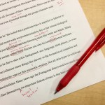 Editing your draft - red ink everywhere!