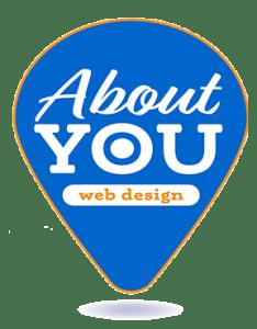 About You Web Design Logo