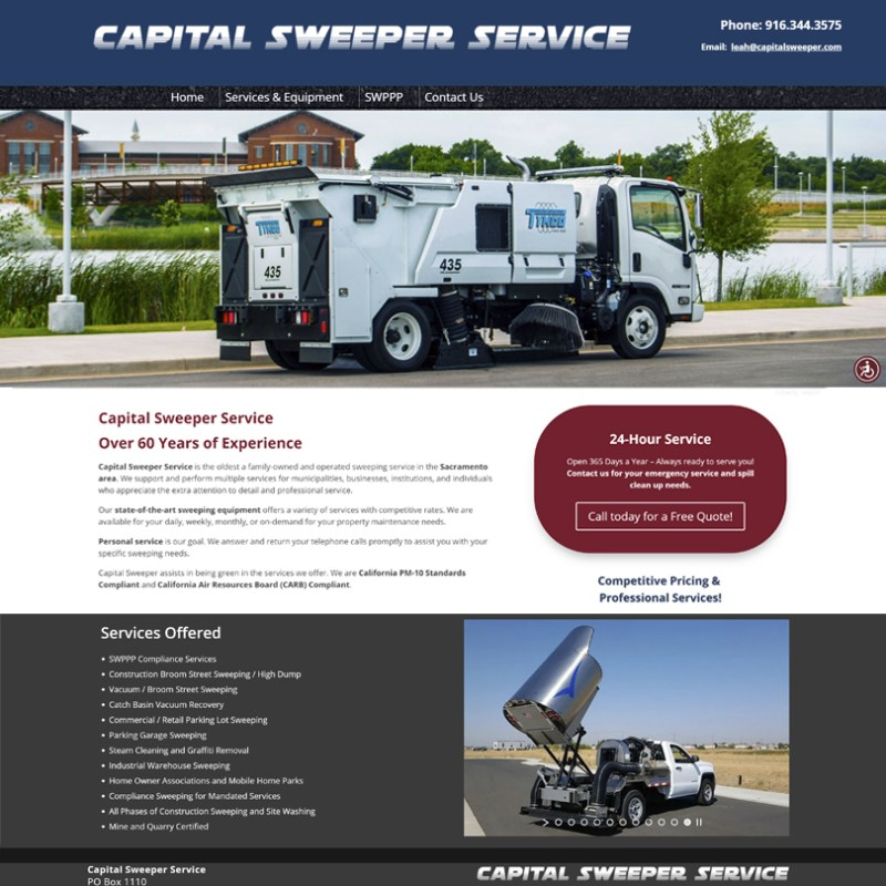 Capital Sweeper Service