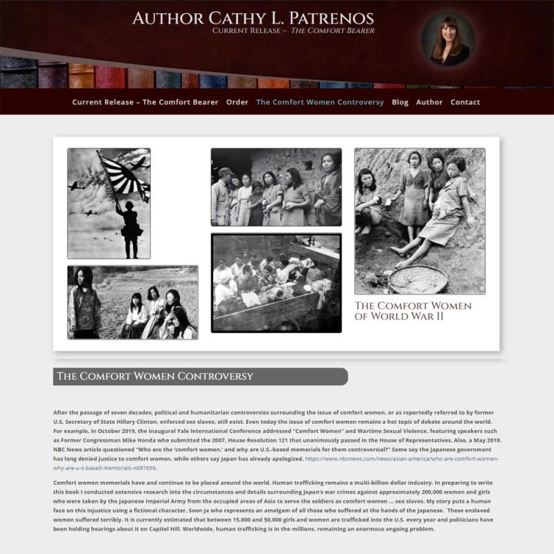 Cathy Patrenos - Author