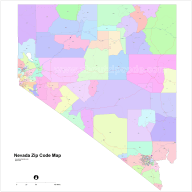 Nevada Zip Code Maps Free Nevada Zip Code Maps