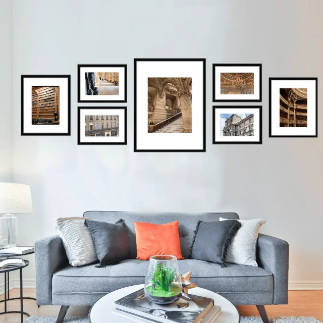 Black Frames for Gallery Wall