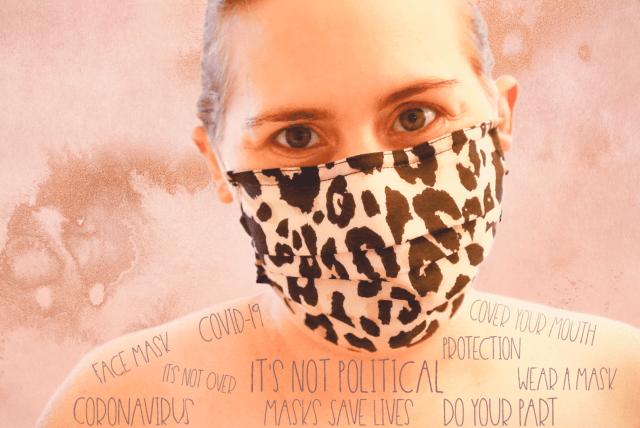Tori In Face Mask