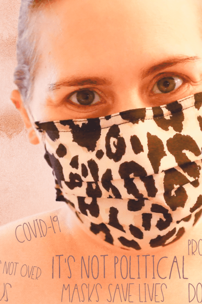 Tori In Face Mask