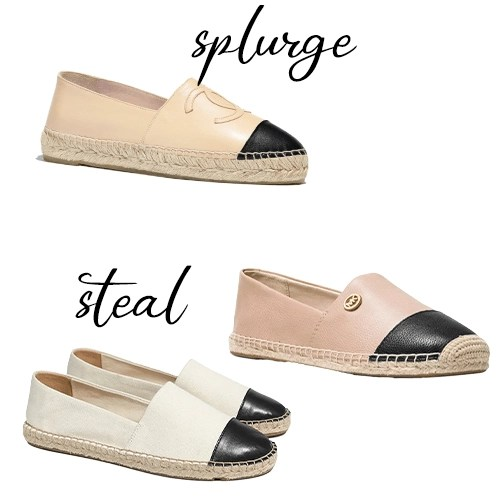 Designer Inspired Chanel Espadrilles