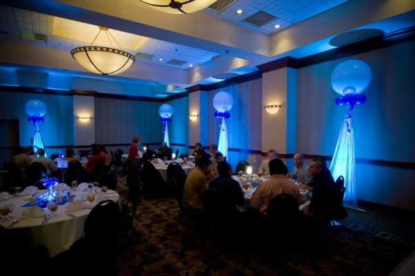 Let us set special lighting to bring a glow to your event