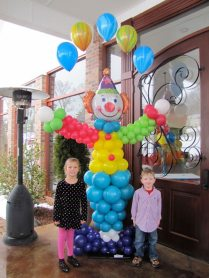Circus theme for your party? We'll make a clown for you
