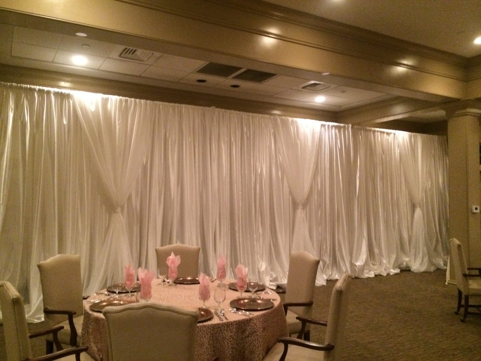 Luxurious Fabric Draping for Weddings   Above the Rest Event Designs
