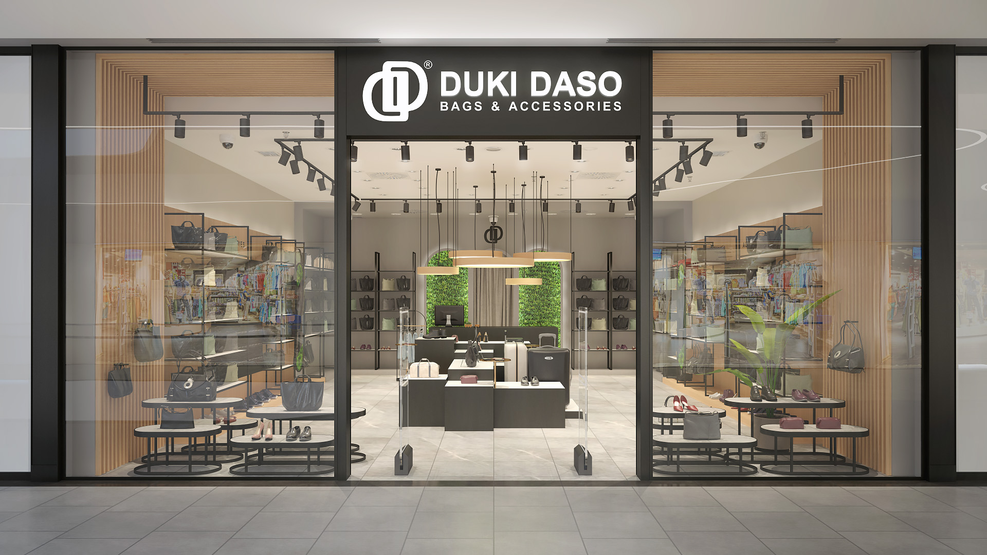Duki Daso BEO SC store / 3d viz
