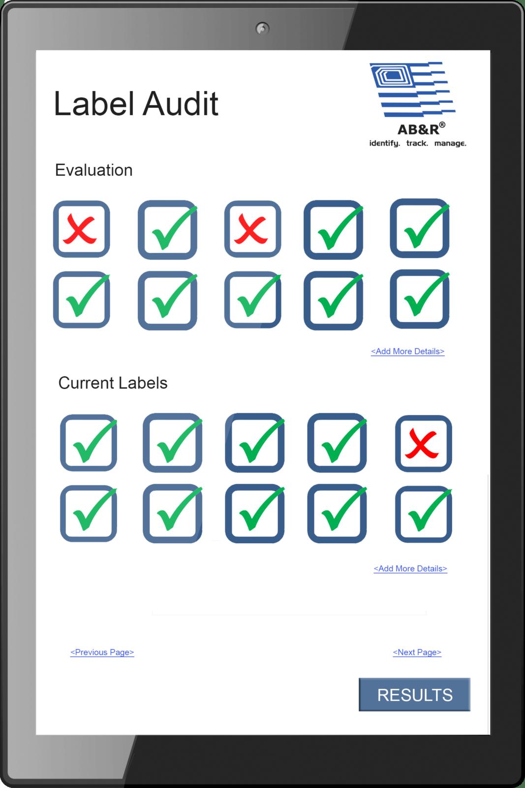 Label Audit Label Assessment