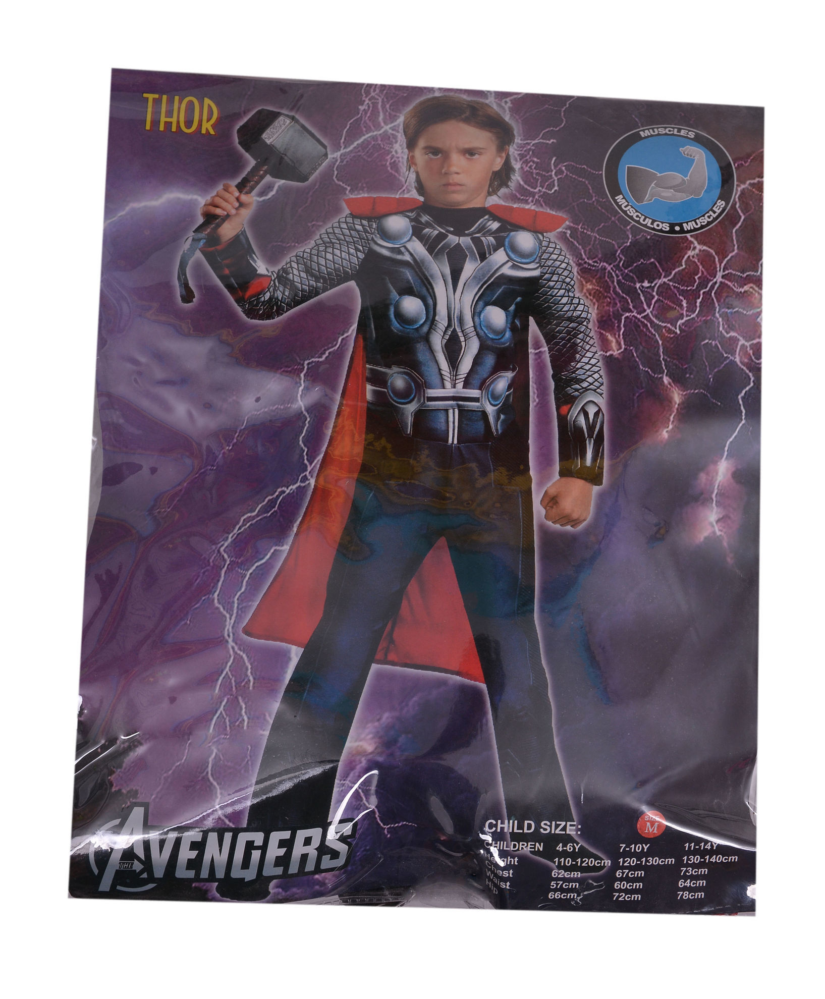 deguisement thor taille s m l