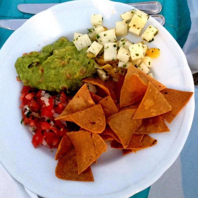 chips guacamole jicama salad