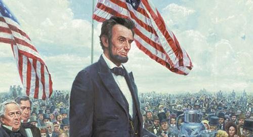Image result for the gettysburg address abraham lincoln