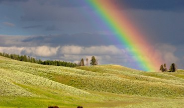 The rainbow, a Sign of Peace in the Bible